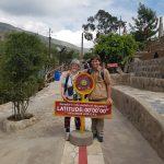Intinan museum - ækvator linien