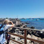 Lillian på havnen