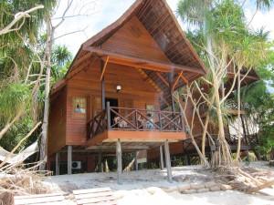 Lankayan - hytten