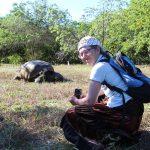 Lillian og skildpadde