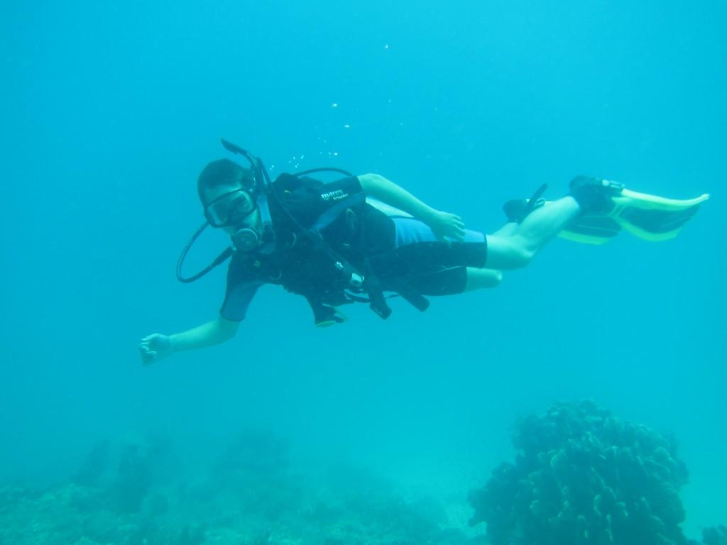 Jonas paa dybt vand