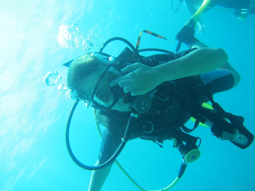 Lillian under vand