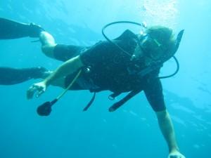 Ole under vand