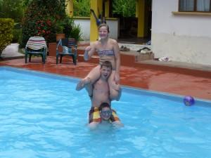 Akrobatik i poolen