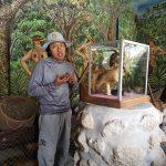Intinan museum - shrinking head foredrag