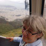 Teleferico - på vej op med cable car