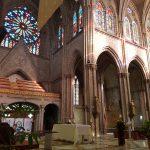 La Basilica church - flot glas