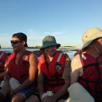 Johanna, Marco, mig og Brendan